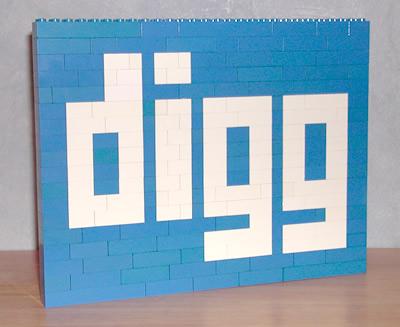 LEGO Digg logo