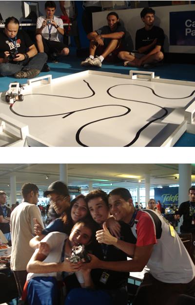 Equipe FEI vencedora da competição